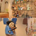Drewniane ręcznie produkowane anioły i szopki bożonarodzeniowe dobre na upominek